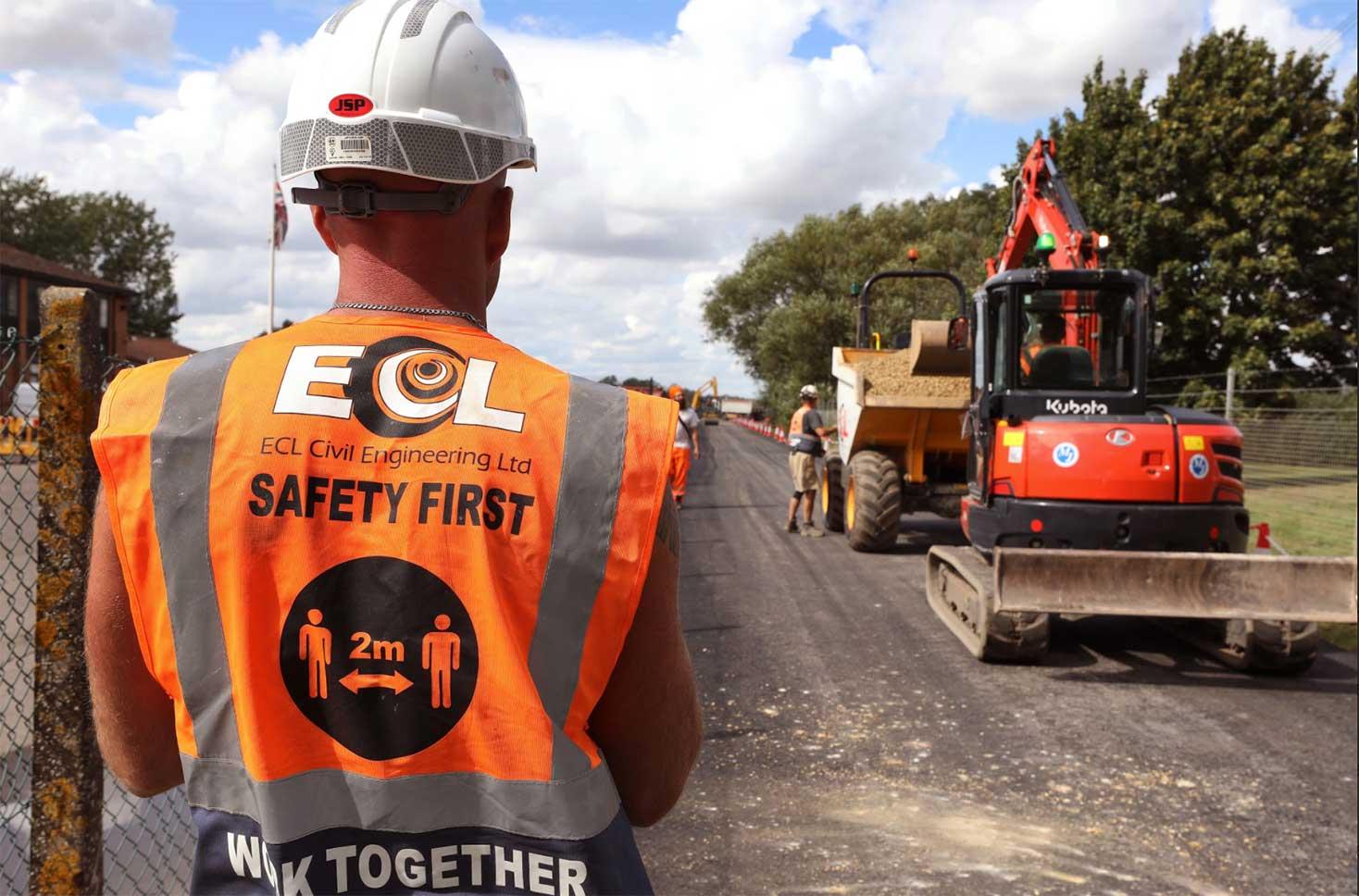 Denny End Road Construction